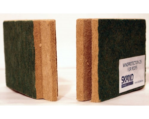 Ветрозащитная плита Isoplaat 2400*800*25 мм. 2-х сторонний шип-паз.